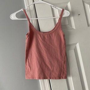 🖤 light pink cami top